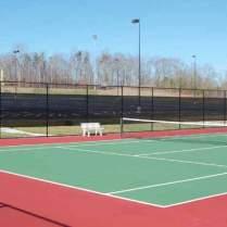 Douglas-outdoor tennis court