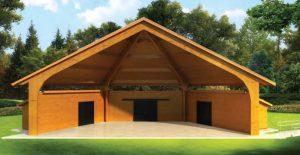 wooden pavilion Ohio