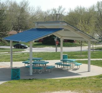 Steel shelter Michigan