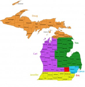 Michigan Territory Map nn