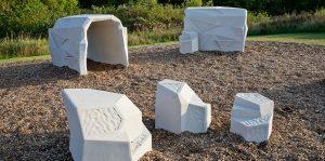 precast concrete stepping stones