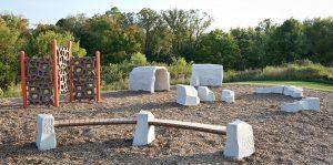 precast concrete benches Michigan