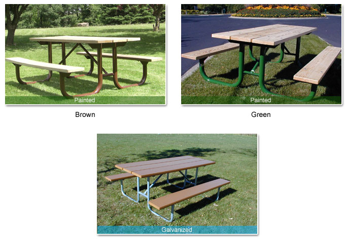 campground picnic table kits