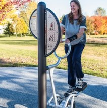 outdoor fitness stations