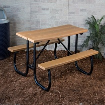 kaypark-table recycled wood