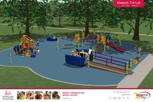 Kiwanis Tot Lot Allen Park