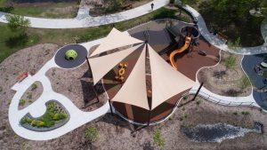 aerial shade playground ann arbor