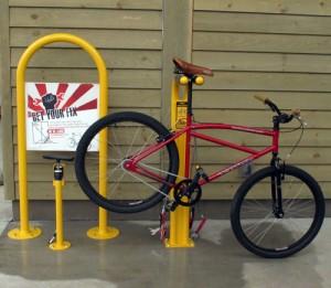 bike repair stand one