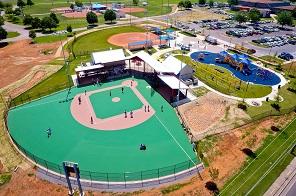 miracle league baseball field