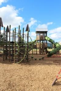 Harbor Springs slide and swings