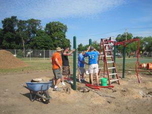 volunteer playground