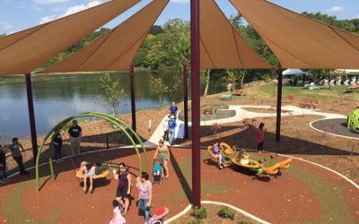 gallup park playground