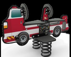 fire truck rider