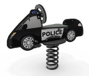 police car rider